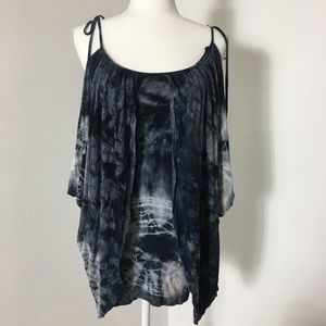 Buffalo David Bittom tie dye shirt